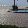 Tradewinds Island Grand paver pool Deck cleaned and sealed