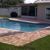 paver pool deck in Largo, Fl