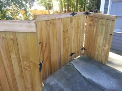 Ready Seal Fence