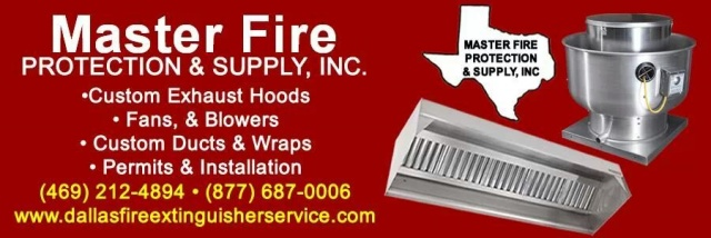 We fabricate & install commercial exhaust hoods.