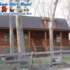 Log home - oak and gloss