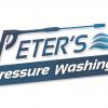 peters pressure washing logo