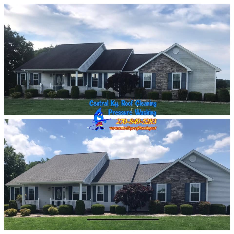 Roof Cleaning & House Wash in Campbellsville Ky