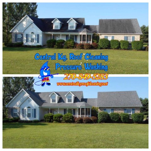 Roof Cleaning in Elizabethtown KY