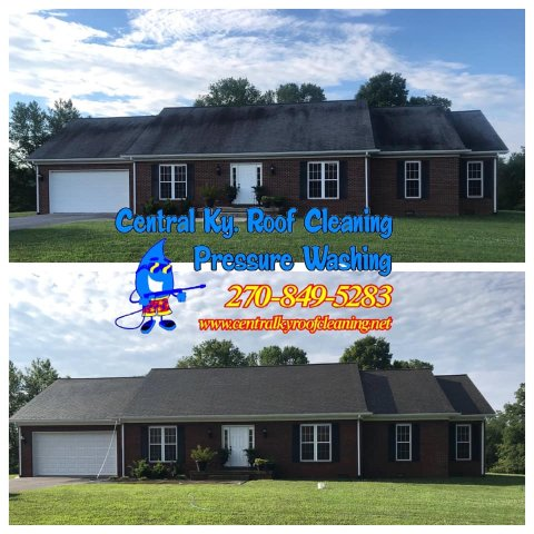 Roof Cleaning in Greensburg Ky